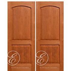 Escon Model # AV6002-2 Knotty Alder, Single Doors, American Hardwood, Traditional Interior, Paneling, Home Decor, Home Styles, Traditional Doors, Doors Interior