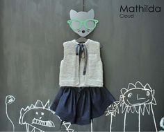 styling, MATHILDA knitted gilet