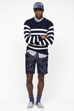 Men's casual style | Ronald Epps | J.Crew Spring Summer 2014