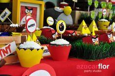 AZUCAR FLOR  party studio  Angry Birds party AZUCAR FLOR