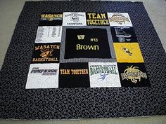 Piece N Quilt: T-Shirt Quilts are finished!