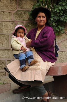 Mother and child from Peru
