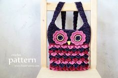 Hey, I found this really awesome Etsy listing at https://www.etsy.com/ca/listing/238205037/crochet-pattern-crochet-owl-purse-with
