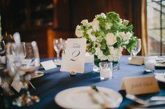 Fall Graylyn Estate North Carolina Wedding