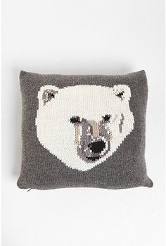PJ by Peter Jensen Polar Bear Pillow | Sumally (サマリー)