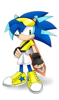 RQ:Speed the Hedgehog by Unichrome-uni on DeviantArt