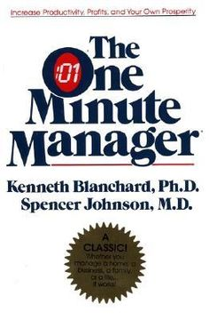 11/24/2014 The One Minute Manager by Kenneth Blanchard and Spencer Johnson.