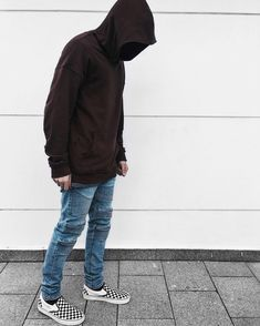 4f66278bd69f Hoodie and Vans Checkerboard Outfit • Instagram   edriancortes - -  men   streetstyle