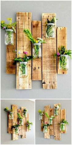 Incredible ideas for reusing wasted wooden pallets # garden… - wood. Incredible ideas for reusing wasted wooden pallets # garden… - wood. garden ideas garden ideas cheap garden ideas from recycled materials Wooden Pallet Projects, Diy Pallet Furniture, Furniture Ideas, Pallet Wood, Furniture Stores, Porch Furniture, Wood For Furniture, Pallet Garden Projects, Reuse Furniture