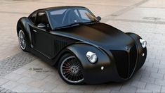 Imperia GP - The Imperia GP is one of the most intriguing concept cars I have come across in some time. The Imperia GP is an electric roadster that mixes c. Maserati, Bugatti, Ferrari, Cadillac, Sexy Cars, Hot Cars, Automobile, Audi, Jaguar