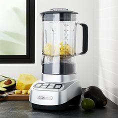Cuisinart ® Velocity Stainless Steel Blender   Crate and Barrel