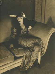 Louise Brooks, wearing Jean Patou dress for Prix de Beauté directed by Augusto Genina, 1930. Photo by James Abbe