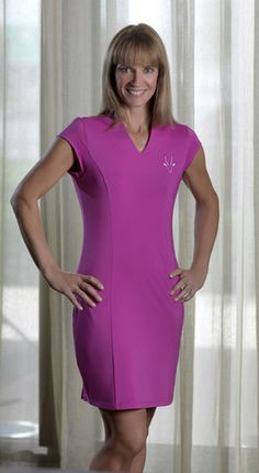 Colorful #Golf #Dress by Roaming Dhabi Designs