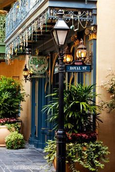 In the New Orleans French Quarter, Royal St. is known for it's antique shops, art galleries and stately hotels.
