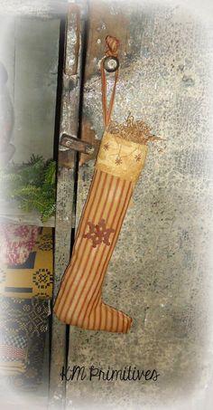 Long primitive stocking....