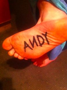 Wouldn't do this tattoo in the 1st place, but don't think I could handle it anyway since I can't stand the bottoms of my feet touched.