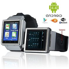 Indigi 3G SmartWatch Phone Android 44 WiFi GPS Google PlayStore Unlocked ATT Tmobile Smart Watches Unlocked Smartphone -- To view further for this item, visit the image link.