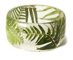 fern leaf ring