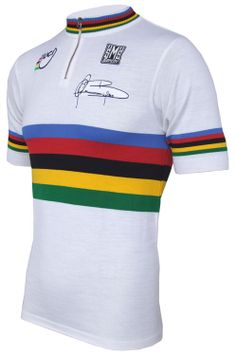 Santini Gianni Bugno world champion special edition jersey