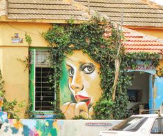 Rami Meiri | Tel Aviv  I love when art and nature come together