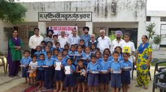 Banga Mehak Lions Club (India) | Lions distributed stationery to students
