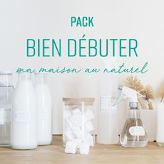 pack bien d& Diy Cleaning Products, Cleaning Hacks, Diy Organisation, Natural Cleaners, Green Life, Hacks Diy, Worlds Of Fun, Diy Crafts To Sell, Save Energy