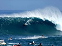 Australia - offshore winds help with amazing rides - the art of nature and art/sport of surfing