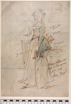 David's sketch of Marie-Antoinette on the way to the guillotine is well-known. These other sketches of the Queen are at the William Andrews ...
