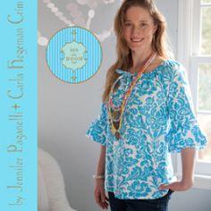 Devon Peasant Top/Dress for Women - Sizes XS(0-2)-3X(26W) | YouCanMakeThis.com