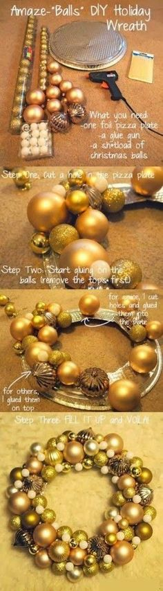 How to make christmas wreaths