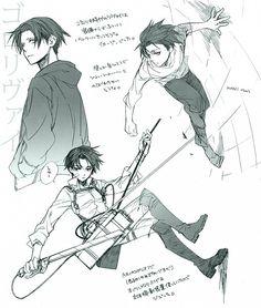 Levi | Shingeki no Kyojin / Attack on Titan