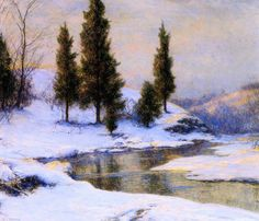 The Mohawk Valley - Walter Launt Palmer