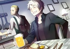 Germany and Prussia Hetalia