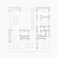 MAPA drops minimal dwelling within lush brazilian forest Architecture Site Plan, Paper Architecture, Architecture Graphics, Residential Architecture, Building Plan Drawing, Floor Plan Drawing, Casas Country, Architect Drawing, Floor Plan Layout