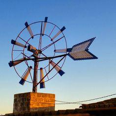 Vivo del viento. Molí en #Campos #Mallorca