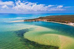 Praia do Gunga - Maceió, Alagoas, Brazil