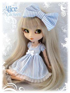blythe alice in wonderland | Robe dress Pullip Alice In Wonderland Blue