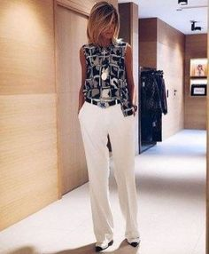 38 Fashionable Work Outfits For Women On - Moda para senhoras de 50 - Summer Work Outfits, Casual Work Outfits, Mode Outfits, Work Attire, Work Casual, Classy Outfits, Chic Outfits, Fall Outfits, Fashion Outfits