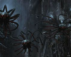 """[Sentinels. The Matrix Universe] """"Squidy?"""" """"A sentinel. A killing machine designed for one thing... Search and destroy"""""""