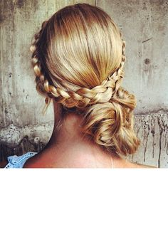 Best wedding hairstyles with braids to the side pony tails Ideas Bridal Braids, Wedding Braids, Braided Hairstyles For Wedding, Up Hairstyles, Pretty Hairstyles, Hairdos, Love Hair, Gorgeous Hair, Updo
