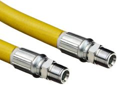 """Goodyear EP Gorilla Yellow Rubber Multipurpose Industrial Hose Assembly, 1/4"""" Steel Hydraulic Coupling Connection, 500 PSI Maximum Pressure, 50' Length, 1/4"""" ID. Two factory-installed steel male hydraulic couplings. Spiral Flexten (aramid) yarn reinforcement for strength and heat resistance. The hose must be capable of withstanding the minimum and maximum temperatures that occur within the hose system. Some applications require specialized oils or chemicals to be conveyed through..."""