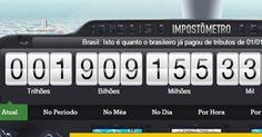 Impostos pagos por brasileiros chegam a R$ 1,9 trilhão este ano