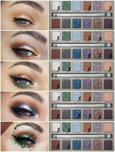 Urban Decay Stoned Vibes Eyeshadow Palette : Review, Swatches   Eye Makeup Looks. - Laura Louise Mak