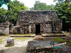 Mayan ruins San Gervasio Cozumel