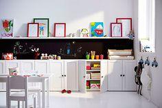Decorar habitaciones infantiles: muebles a medida para ganar zonas de almacén