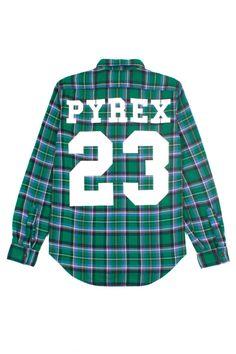 Pyrex Vision Flannel #urbvngallery  Instagram @Urbvn Gallery