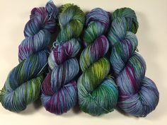 A personal favorite from my Etsy shop https://www.etsy.com/listing/477606639/merino-silk-twist-fingering-hand-dyed