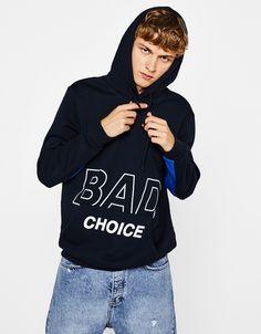 45 Best STATEMENT images | Plain hoodies, Mens sweatshirts