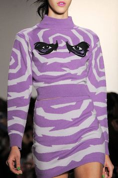 Jeremy Scott Fall 2013 Ready-to-Wear Detail
