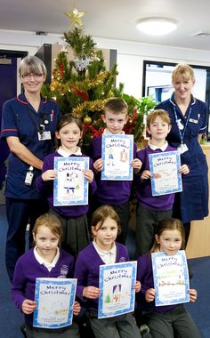 Children from Cramlington Village Primary School have designed Christmas cards for our staff who will be working over the festive period... https://www.youtube.com/watch?v=JGca6NccDGY